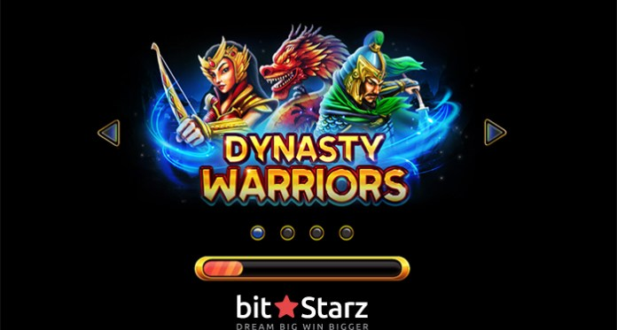 50% Reload + 50 Free Spins on New Exclusive Slot Titled Dynasty Warriors