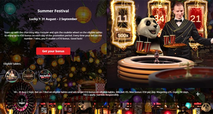 Dont Miss Out on All the Summer Festival Rewards at Royal Panda