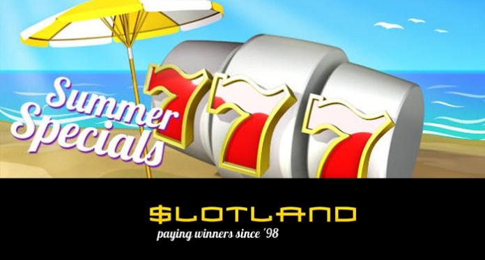 Get Sizzling Slot Summer Bonuses at Slotland This Week