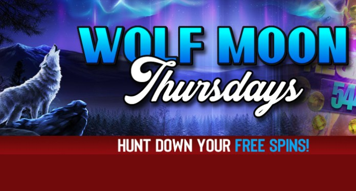 Its Wolf Moon Thursday at Vegas Crest Casino - 200 Free Spins