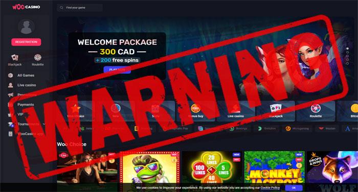WooCasino Complaint – Avoid this Casino