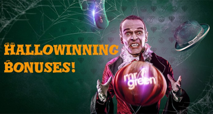Dare to Not Be Scared, Halloween Casino Bonuses are a Treat!