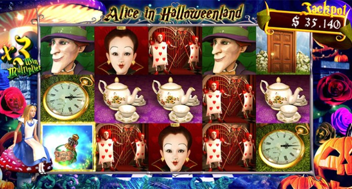 Cryptoslots $250 Top Ups for $350 Deposits on Alice in Halloweenland
