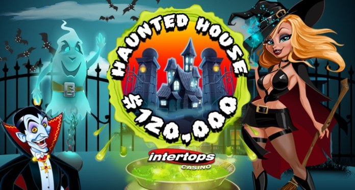 Players Compete for Top Prizes in Intertops Casino's $120K Haunted House Contest