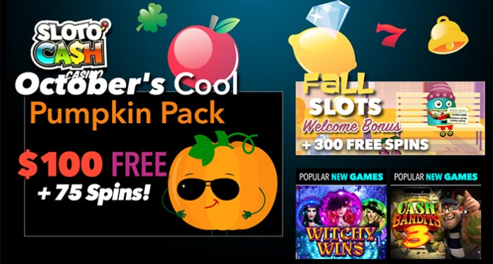 Great Fall 2020 Bonuses a Halloween Tourney + Free Spins
