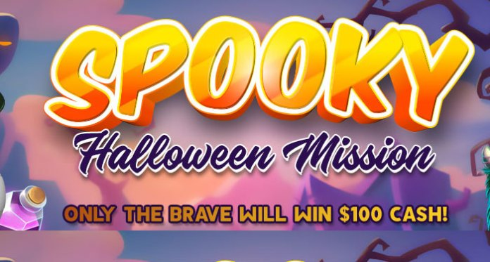 Be Brave and Win a $100 in Vegas Crest' Spooky Halloween Mission