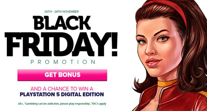 Win a PlayStation 5 Digital Edition with CasinoLuck's Black Friday Promotion