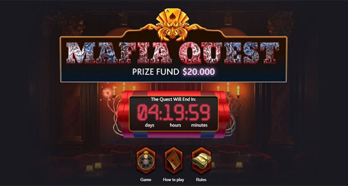 Play 7Bit's Mafia Quest for a Chance to Walk Away with $20,000