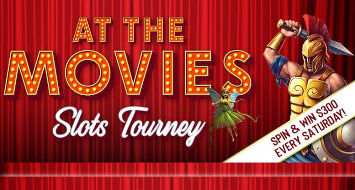 Vegas Crest Casinos At the Movies Slot Tournament, Win $300!