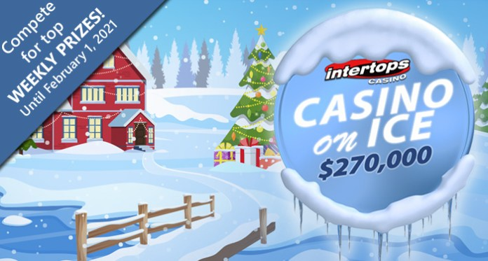 Intertops $270,000 Casino on Ice Contest is Frosty Fun for Players