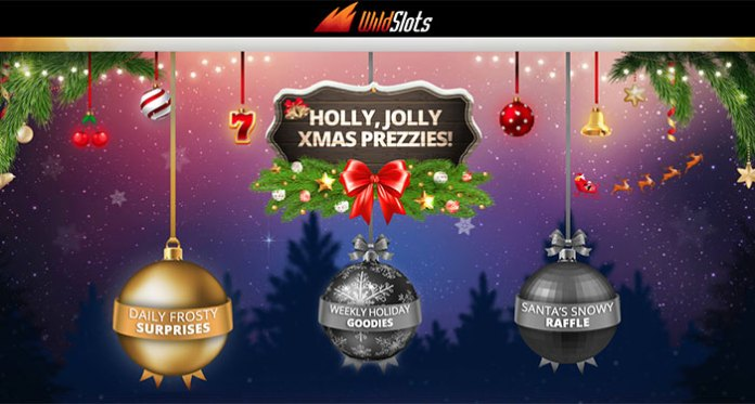 Get a Stocking Full of Goodies at Wild Slots Holly Jolly Xmas Prezzies