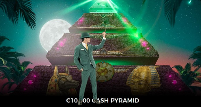 €10,000 Prize Pool at Mr Green in the Cash Pyramid Promotion