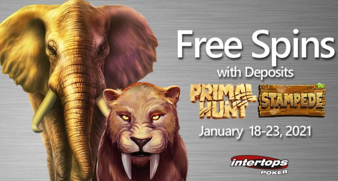 Players Travel Back to the Stone Age in Primal Hunt at Intertops