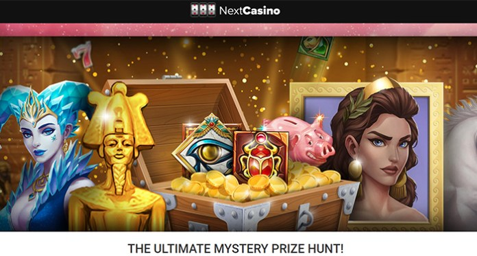 NextCasino's Ultimate Mystery Prize Hunt is Here!