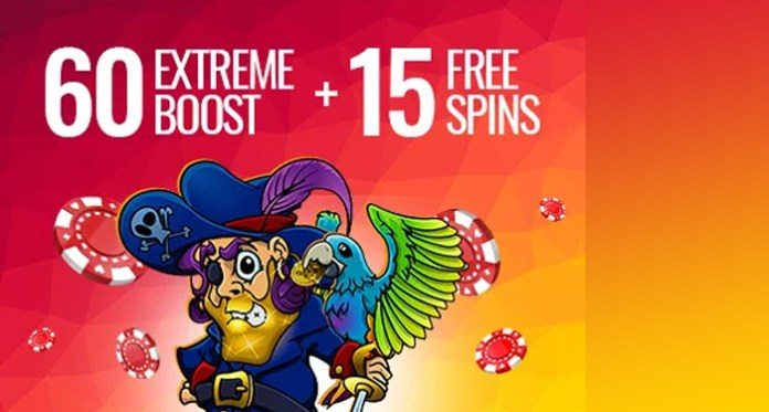 Get Your Daily 60 Boost on Any $20 - $400 + 15 Free Spins