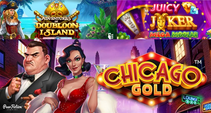 Jackpot City Featuring Three Fantastic New Microgaming Slots