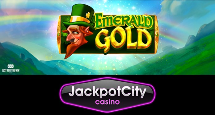 Play the New Emerald Gold Slot at Jackpot City Casino