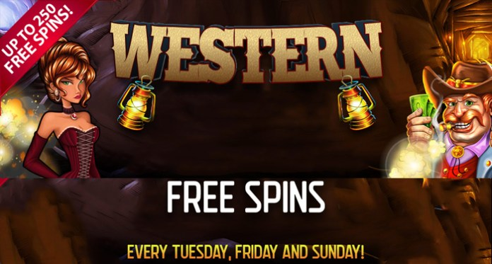 It's Time for Some Fun Western Free Spins with Vegas Crests Wild West Style