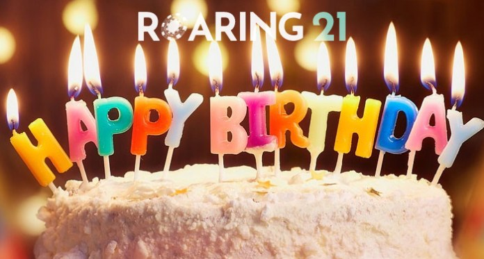 Happy 3rd Birthday Roaring 21 Casino!
