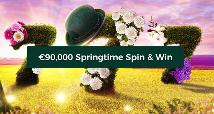 Win Freshly Bloomed Cash in Mr Greens €90,000 Springtime Spin & Win