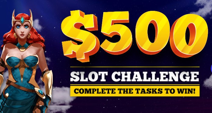 Are You Up for a Challenge, a $500 Slot Challenge?