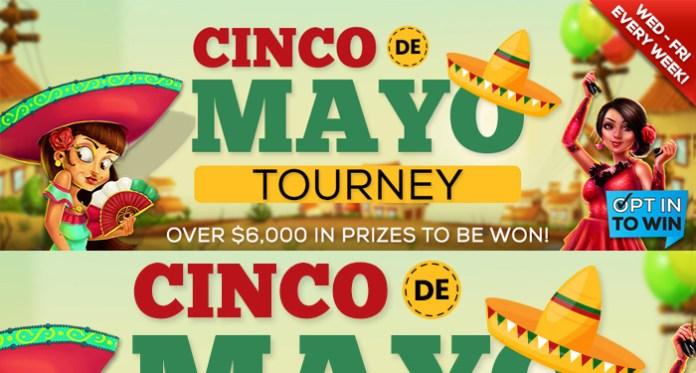 Grab $700.00 Cash in Vegas Crest Casinos Cinco de Mayo Tourney!