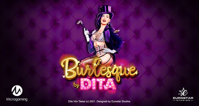 Microgaming Raises Curtain on Show-Stopping New Dita Von Teese Branded Slot