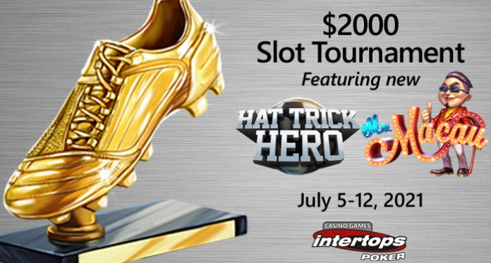 Intertops Poker Introduces New Hat Trick Hero from Betsoft