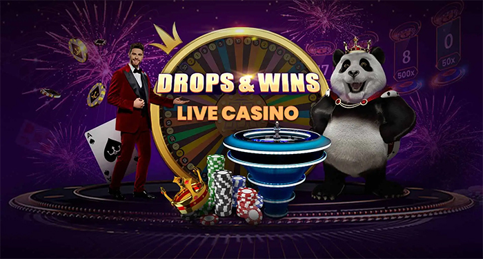 Play Royal Panda and Pragmatic Play's Drop and Wins Live Casino Tournament