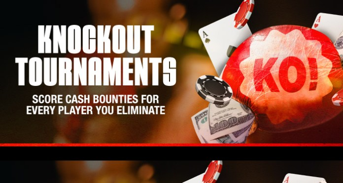 Get in on a Cash Bounty with Ignition Pokers Knockout Tournament