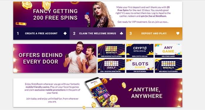 Ketika Jackpot Progresif Kapan Saja, Di Mana Saja di Kasino SlotsRoom