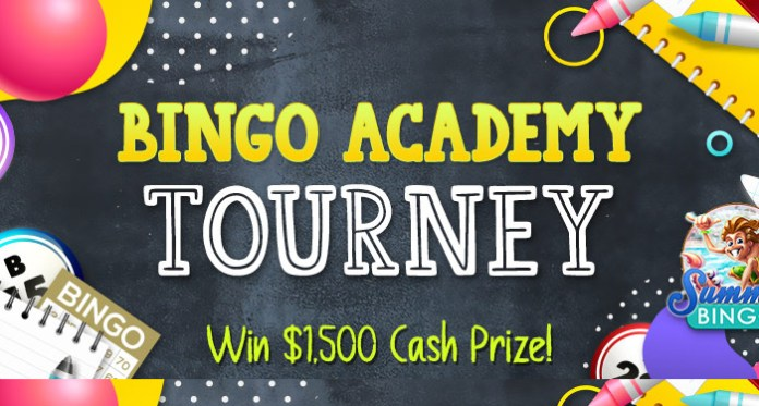 Win $1500 in Cash in Cyberspins Bingo Academy Tourney