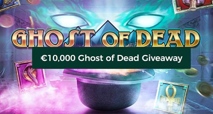 Hadiah Mr Green Casinos $10,000 Ghost of Dead sedang berlangsung