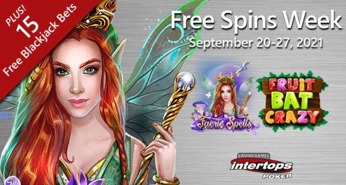 Intertops Poker Offering Fairies, Fruitbats, Free Bets for First of Fall Fun