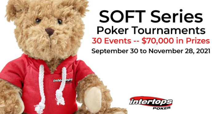 Serious Cash Rewards in Intertops Poker's SOFT Series Poker Tournaments