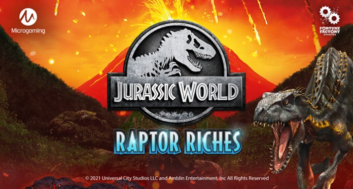 Microgaming Releases Jurassic World: Raptor Riches Slot
