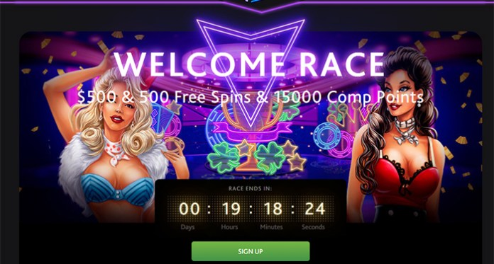 There is $500 & 500 Free Spins + 15000 Comp Points at 7Bit Casino