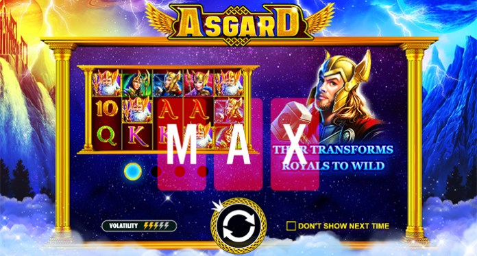150 Monthly Spins on Asgard Slot are Waiting over at CasinoMax