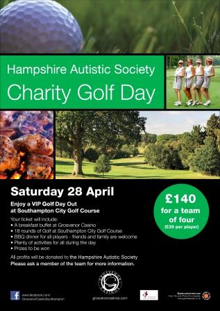 Grosvenor Casino Hampshire Autistic Society