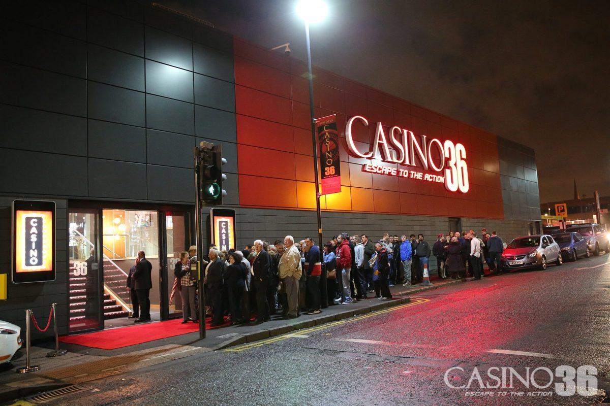 Casino 36 Wolverhampton Opens Its Doors