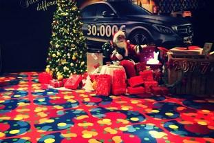Santa Claus at Safir