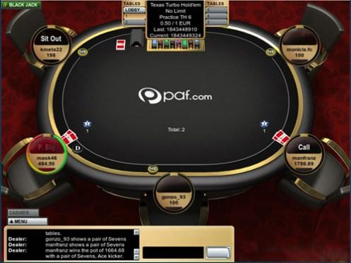 poker paf torneo