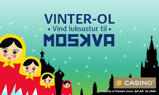 Casino Vinter OL konkurrence på Danske Spil Casino!