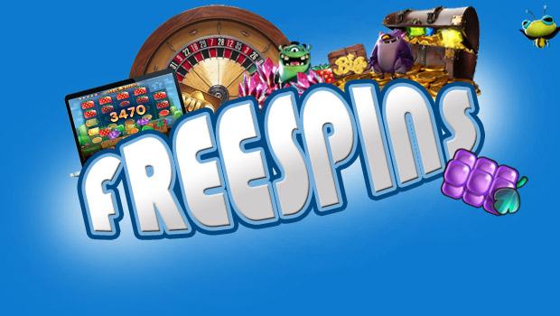 Casinoer med gratis spins