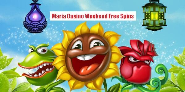 Maria Casino fejrer sommeren med 1000 weekend gratis spins!