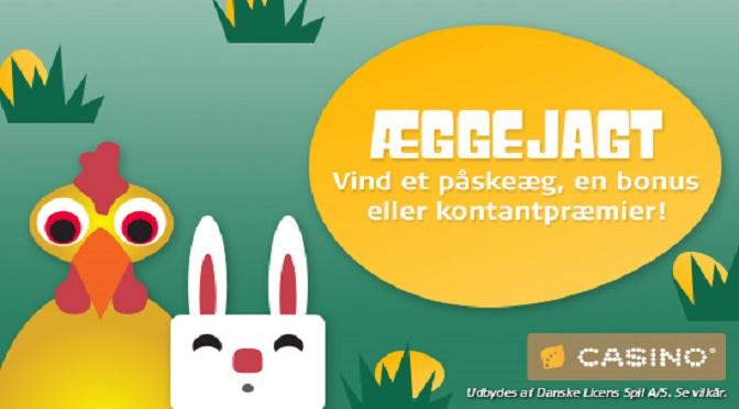 Påske gratis casino bonusser på Danske Spil Casino