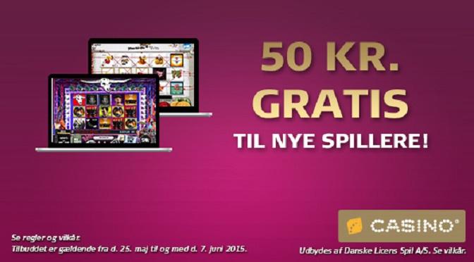 Gratis casino penge til Danske Spil Casinos nye spillere