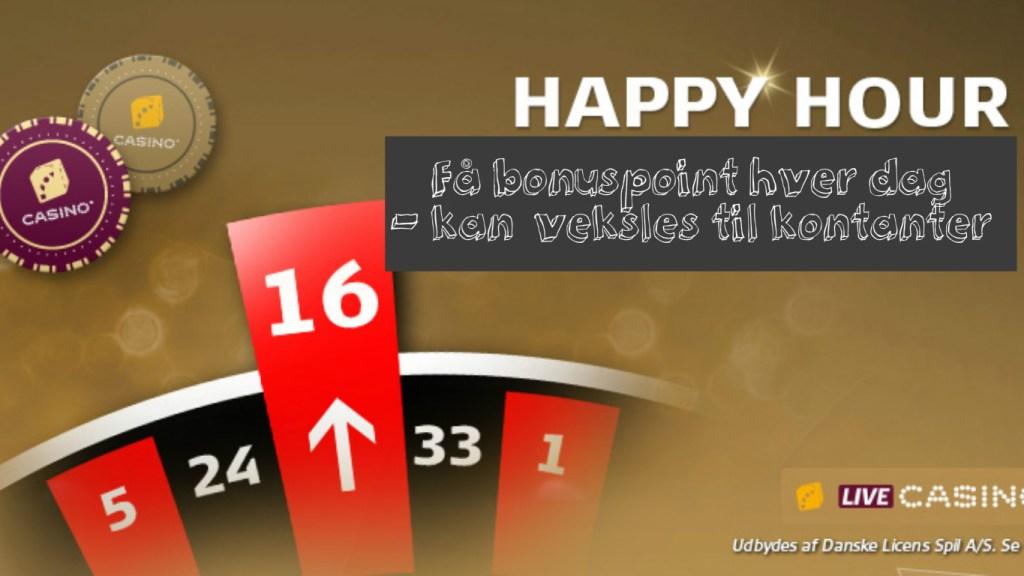 happy hour på Danske Spil Casino
