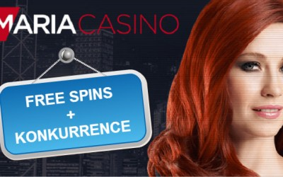 Maria Casino konkurrence og free spins samt live roulette turneringer