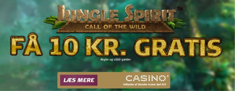 Prøv Jungle Spirit med gratis spins og forøgede vinderchancer